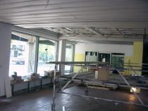 Umbau Gymnasium, Umbauprojekt Isar-Tro-Bau, Handwerksbetrieb Landshut